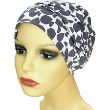 Cotton lined beanie. Jersey Hats for chemo hair loss. soft, smooth and comfy. gr