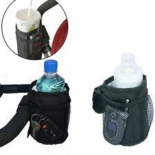 Baby Stroller Bag Cup Holder Bottle Pram Buggy Organizer Parent Console Smart