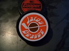 VINTAGE 1975-76 NAHL BEAUCE JAROS HOCKEY PUCK NORTH AMERICAN HOCKEY LEAGUE RARE