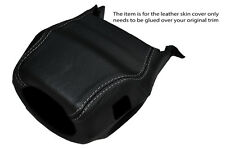 GREY STITCH STEERING WHEEL SHROUD SKIN COVER FITS LAND ROVER DISCOVERY 1 89-94