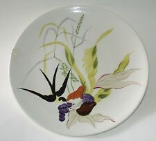 "Good Cnd Red Wing Capistrano Dinner Plate 10.9"" Anniversary Hand Painted Chipped"