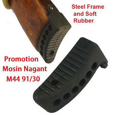 "Black Mosin Nagant Rifle Stock 1"" Recoil Buttpad For M44 M38 Butt Pad 91/30 Gun"