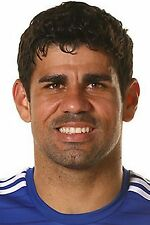 Football Photo DIEGO COSTA Chelsea 2014-15