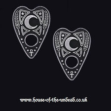 RESTYLE OUIJA PLANCHETTE HAIRCLIPS. SPIRIT BOARD. OCCULT. WITCHCRAFT/HORROR
