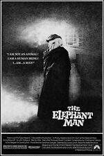 the elephant man CLASSIC B/W MOVIE POSTER anthony hopkins 1980 DRAMA 24X36
