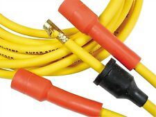 BIG BLOCK FORD 351C-400-429-460 ACCEL Yellow 8mm Spark Plug Wires-Points Cap