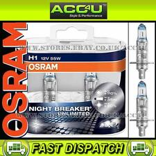 Osram H1 Night Breaker Unlimited 12v 55w Car Upgrade Headlight Headlamp Bulbs