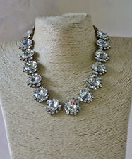 Chloe and isabel Crystal Silver Necklace