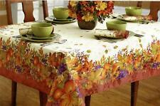 TABLECLOTH HARVEST JUBILEE 60 x 120 THANKSGIVING AUTUMN FRUIT BERRIES LEAVES