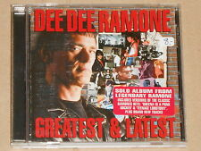 DEE DEE RAMONE -Greatest & Latest- CD