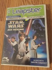 STAR WARS Jedi Reading Leapster Learning GAME SEALED