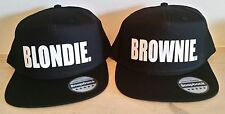 BLONDIE BROWNIE Snapback Pair Fashion PRINTED Snapback Caps Hip-Hop Hats RAPPER