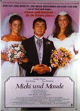Micki & Maude - Blake Edwards, Dudley Moore - Filmplakat DIN A1 (gerollt)