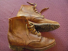 USA 2EME GUERRE: BRODEQUINS REGLEMENTAIRES  FABRICATION HERMANN SHOES