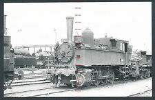 RQ65d CZECHOSLOVAKIA CSD steam locomotive 422.068 at Plzen 3/6/65