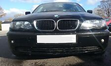 BMW 316i E46 SALOON 2004 BREAKING N46 ENGINE N/S/FRONT ALL PARTS O/S/REAR BLACK
