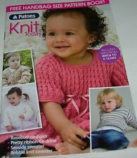 Handbag Size Patons Knit Today Booklet Great Knits Patterns for Children