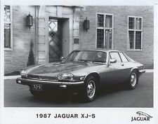 Jaguar XJS V12 Coupe 1987 USA Specification Original b/w Press Photo