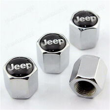 Car Wheel Airtight Tyre Tire Stem Air Valve Caps  Theft  for   jeep x 4 k