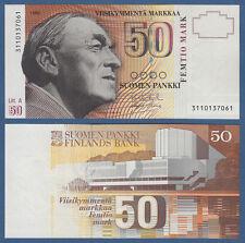 FINNLAND / FINLAND  50 Markkaa 1986 UNC  P.118