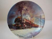 BRADEX & DAVENPORT POTTERY GREAT STEAM TRAINS THE ROYAL SCOT PLATE