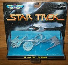 SEALED MICRO MACHINES IV STAR TREK the MOVIES EXCELSOR VULCAN SURAK U.SS GRISSOM