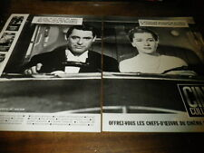CARY GRANT & JOAN FONTAINE - Publicité de magazine / Advert !!! CINE COLLECTION