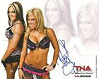 Velvet Sky Signed 8x10 Photo 2010 Promo Beautiful People TNA Impact Wrestling