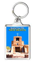 SANTA FE NEW MEXICO MOD2 KEYRING SOUVENIR LLAVERO