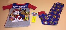 Paw Patrol Toddler Boy Pajamas New 4T Skye Marshall Chase Rubble