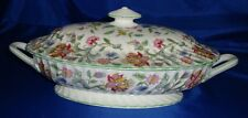 Superb Minton Haddon Hall Tureen (Green)