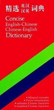 Concise English-Chinese Chinese-English Dictionary-ExLibrary