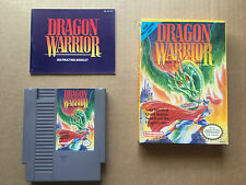Dragon Warrior (Nintendo Entertainment System 1989) Complete with Manual & Guide