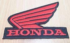 1xNEW HONDA WING MOTOR BIKE LOGO SYMBOL EMBROIDERED IRON ON PATCH SHIRT PO163