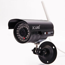 720P HD IR Night Vision Wireless Outdoor CCTV Camera Wifi P2P Network IP Webcam