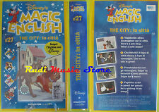 film VHS MAGIC ENGLISH 27 The city In citta' SIGILLATA DISNEY 1997 (F61)no dvd