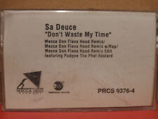 Sa Deuce - Don't Waste My Time PROMO Cassette Single with REMIX Rare RAP