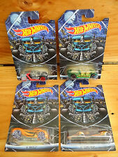 Hot Wheels 2015 Happy Halloween Screamliner, What-4-2, 16 Angels & HI I.Q. A+/AB