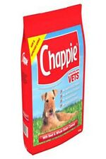 Chappie Dry Dog Food Low Fat All Breeds Beef & Wholegrain Cereal 15kg Pack