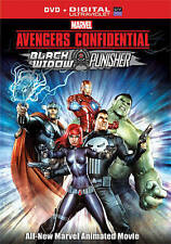 Avengers Confidential: Black Widow & Punisher (DVD, 2014)