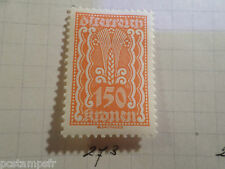 AUTRICHE AUSTRIA, 1922, timbre 273, ARMOIRIES, neuf*, OSTERREICH VF MH STAMP