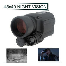 4.5x40 Infrared IR Digital Night Vision Video Camera Monocular Scope Gen 2 DVR