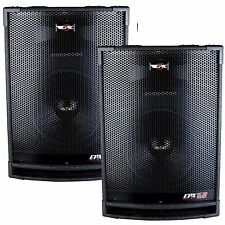 "(2) Epic Audio EPX15.18C 15"" 1800 Watt DJ / PA / PRO Speaker 2-Way 8-Ohm Passive"