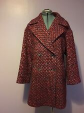 Zara Double Breast Coat Size S Vintage/retro