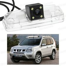 4 LED Car Rear View Camera Reverse Backup CCD for Nissan X-Trail 2008-2013