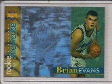 1996-97 Stadium Club Rookie Showcase Brian Evans #RS22