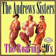 THE ANDREWS SISTERS CD Vintage Vocal Jazz / The Roaring 20's , Barney Google ...