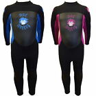 MADMONKEY KIDS CHILDRENS 3mm FULL LENGTH WETSUIT 2 -15yr toddler junior boy girl