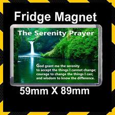 Serenity Prayer -Christian Fridge Magnet- Christian Gift #LAR200