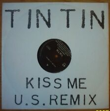 12' 45 rpm Tin Tin - Kiss me